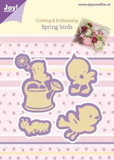 Joy! crafts - Die - Spring birds