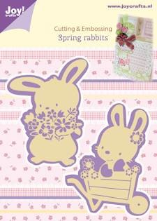 Joy! crafts - Die - Spring rabbits