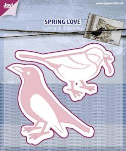 Joy! crafts - Die - Spring love