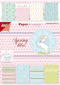 Joy! crafts - Paperpack - Spring - 6011/0065
