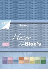 Joy! crafts - Paperpack - Happy - 6011/0066