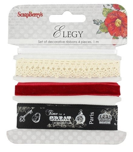 ScrapBerry`s Decorative ribbon - Elegy