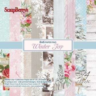 ScrapBerry`s - Paperpack - Winter Joy - SCB220605414