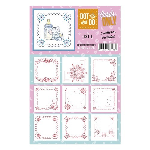 Card Deco - Oplegkaarten - Dot & Do - Cards Only - Set 1 - CODO001