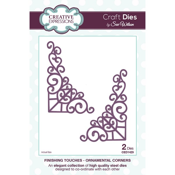 Creative Expressions - Die - The Finishing Touches Collection - Ornamental Corners