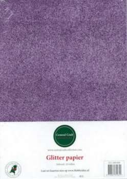 Central Craft Collection - Glitterpapier: Lila - 280-008