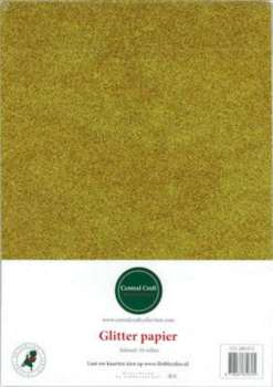 Central Craft Collection - Glitterpapier: Goud - 280-013