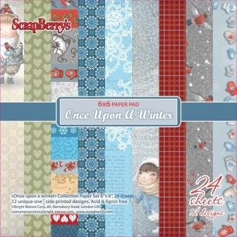 ScrapBerry`s - Paperpack - Once Upon A Winter - SCB220605610