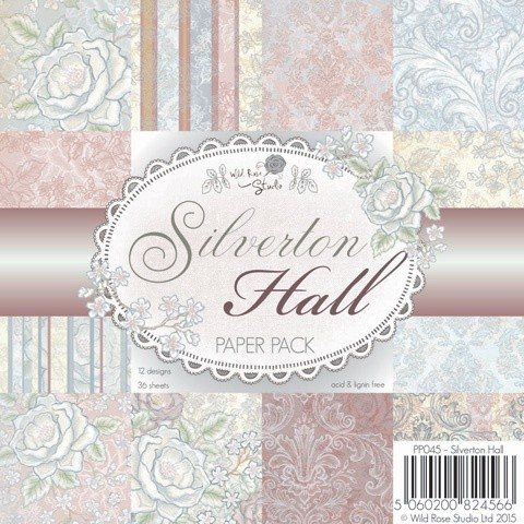 Wild Rose Studio`s - Paperpack - Silverton Hall - PP045