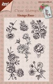 Joy! crafts - Clearstamp - Vintage Roses - 6410/0351