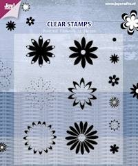 Joy! crafts - Clearstamp - Pointed Flowers - 6410/0354
