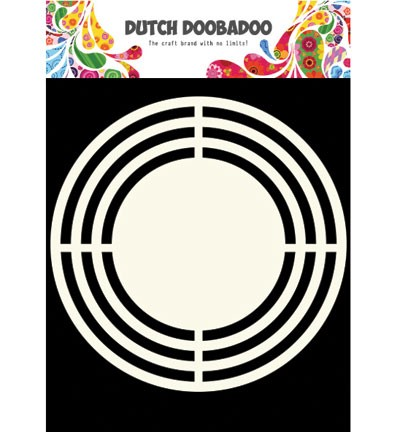 Dutch Doobadoo - Shape Art - Circle - 470.713.121