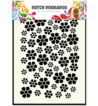 Dutch Doobadoo - Maskingstencil - Flowers - 470.715.040