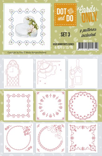 Card Deco - Oplegkaarten - Dot & Do - Cards Only - Set 3 - CODO003