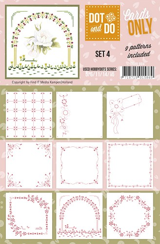 Card Deco - Oplegkaarten - Dot & Do - Cards Only - Set 4