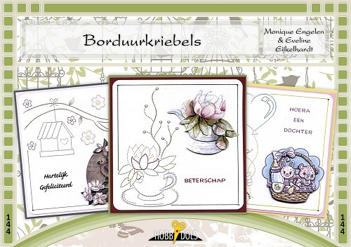 Card Deco - Hobbydols - No. 144 - Borduurkriebels