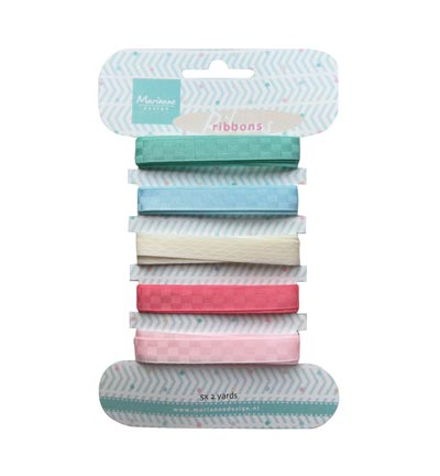 Marianne Design - Ribbons - Sweet colors ribbons - JU0950