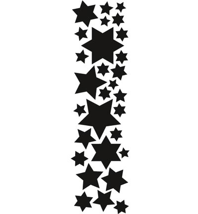 Marianne Design - Die - Craftables - Punch die - stars - CR1321