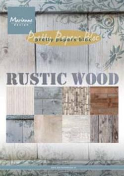 Marianne Design - Paperpack - Pretty Papers - Rustic wood - PK9124