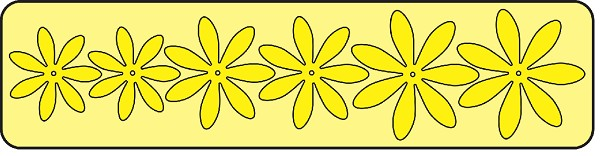 Cheery Lynn Design - Die - Daisy Strip - B259