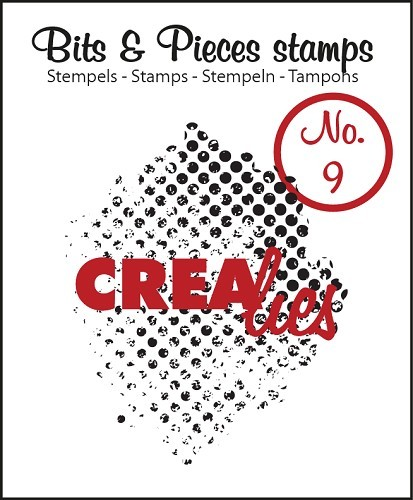 Crealies - Clearstamp - Bits & Pieces - No. 09 - Grunge dots - CLBP09
