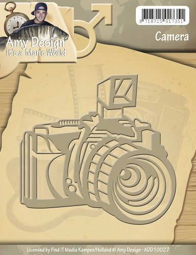 Card Deco - Amy Design - Die - It`s a Man`s World - Camera