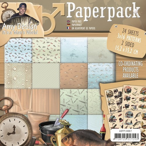 Amy Design - Paperpack - It`s a Man`s World - ADPP10007