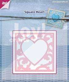 Joy! crafts - Die - Square Heart
