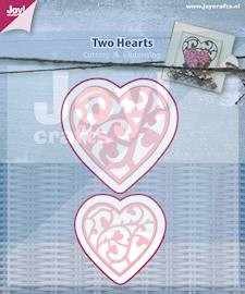 Joy! crafts - Die - Two Hearts