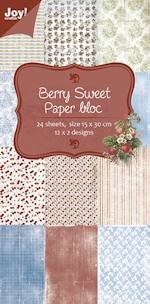 Joy! crafts - Paperpack - 150 x 300mm - Berry Sweet - 6011/0316