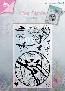 Joy! crafts - Clearstamp - Love Birds - 6410/0356