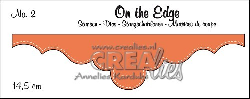 Crealies - Die - On the Edge - No. 02