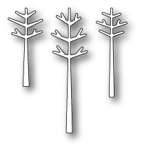 Memory box - Poppystamp - Die - Stick Trees