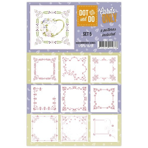 Card Deco - Oplegkaarten - Dot & Do - Cards Only - Set 5