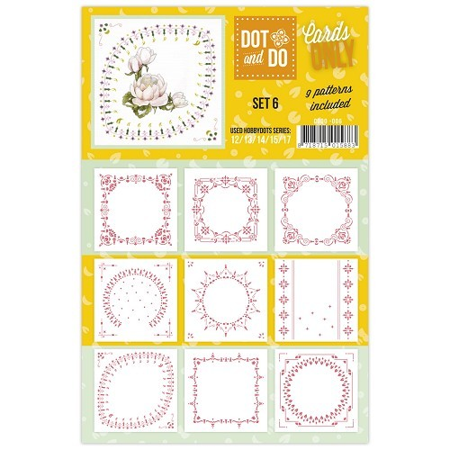 Card Deco - Oplegkaarten - Dot & Do - Cards Only - Set 6