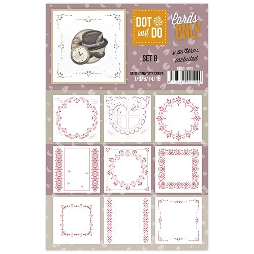 Card Deco - Oplegkaarten - Dot & Do - Cards Only - Set 8