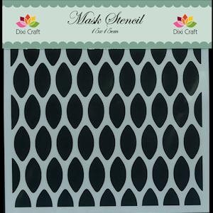 Dixi Craft - Maskingstencil - Honingraat - MS006