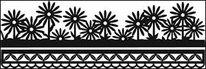 Marianne Design - Die - Craftables - Anja`s Flower Border - CR1330