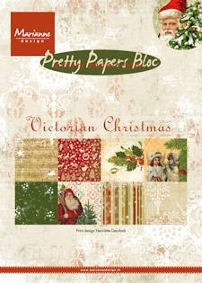 Marianne Design - Paperpack - Pretty Papers - Victorian Christmas - PK9125