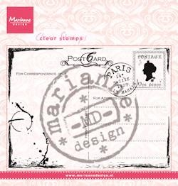 Marianne Design - Clearstamp - Postcard - CS0935