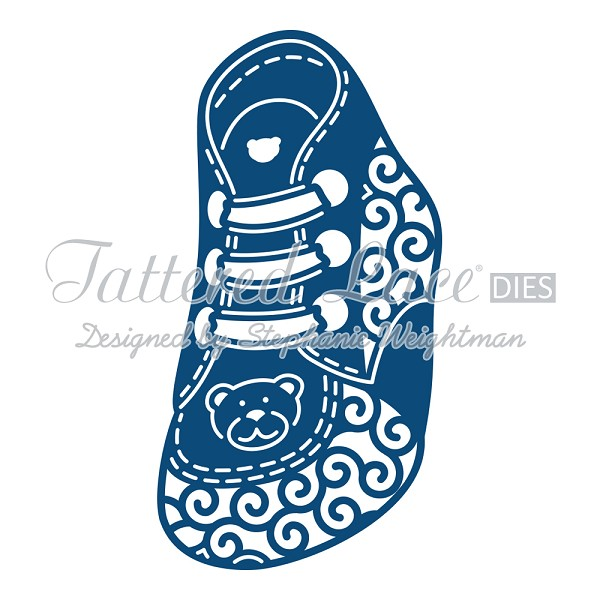 Tattered Lace - Die - Baby Boy Bootie