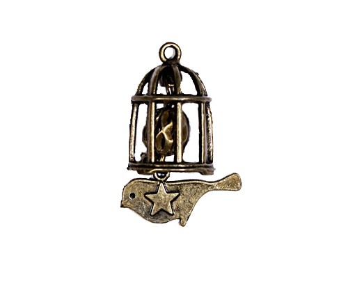 ScrapBerry`s - Bedeltje - Birdcage with the pendant - SCB25011534