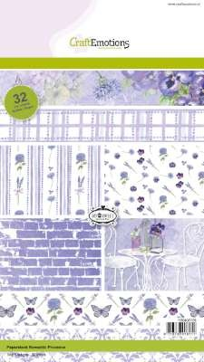 CraftEmotions - Paperpack - Romantic Provence - 118040/0109