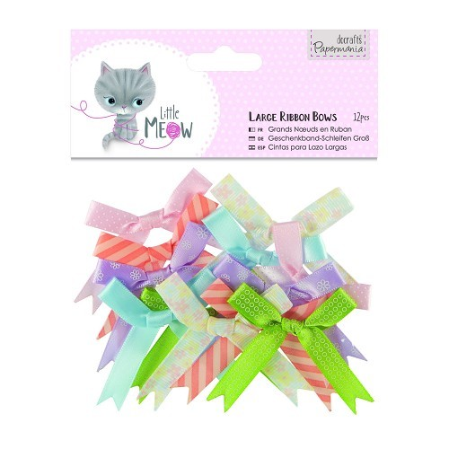 Papermania - Strikken / bows - Little Meow - PMA354809