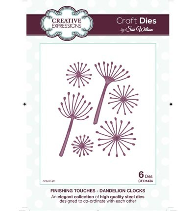 Creative Expressions - Die - The Finishing Touches Collection - Dandelion Clocks
