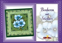 Card Deco - Hobbydols - No. 14 - Borduren met stickers