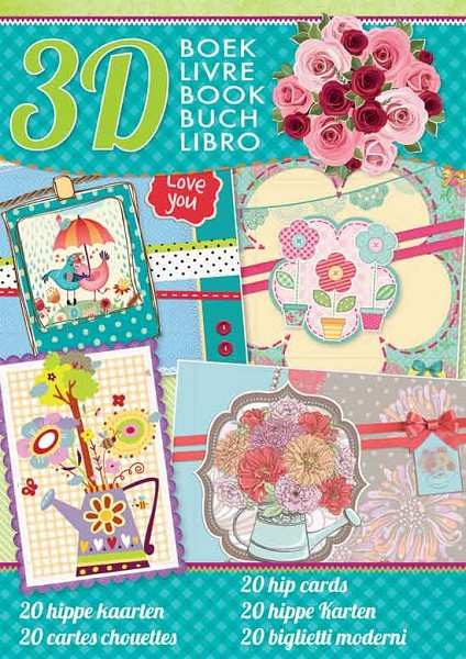 Studio Light - 3D-kaartenboek - Hippe Kaarten