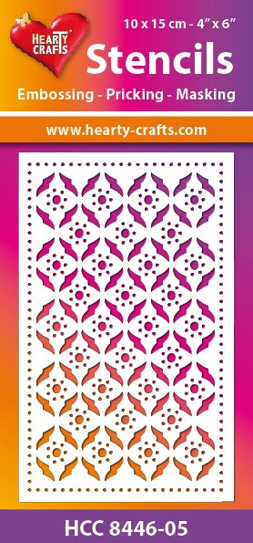 Hearty Crafts - Maskingstencil - Retro - HCC8446-05