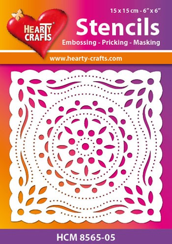 Hearty Crafts - Maskingstencil - Circles - HCM8565-05