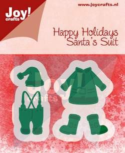 Joy! crafts - Noor! Design - Die - Happy Holidays - Santa`s suit